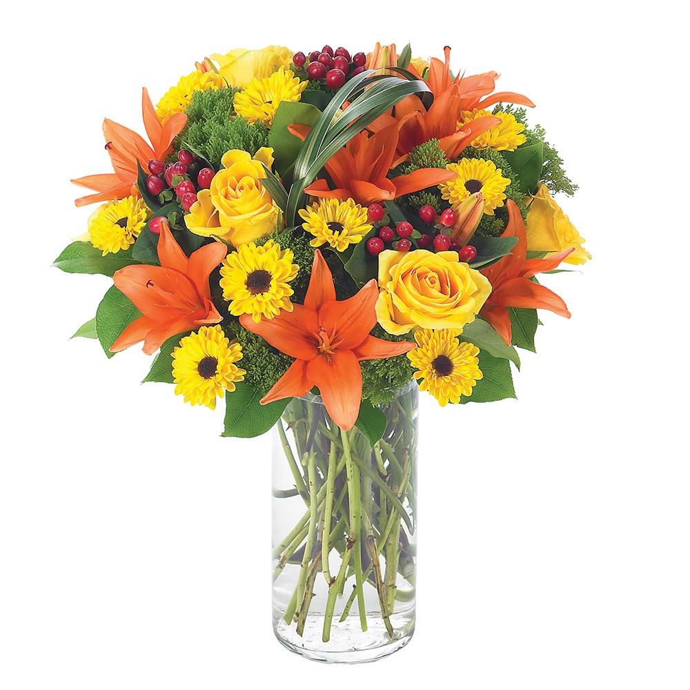 Buquê de Flores Nobres no Vaso