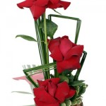 Arranjo 3 rosas